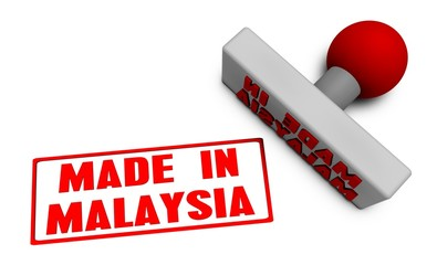 Made in Malaysia Stamp