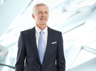 Active businessman portrait