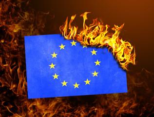 Flag burning - European Union