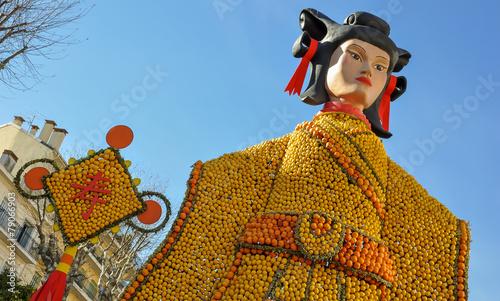 Papiers peints Carnaval fête du citron menton