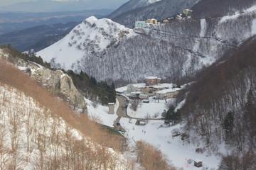 VIllaggio turistico di montagna