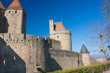 Rempart de Carcassonne