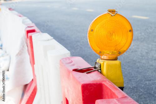 Construction site hazard warning light - 79069105