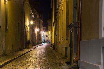 Old Tallinn in the night
