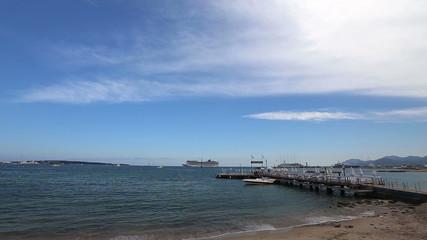 Cannes France coast Cote d'Azur