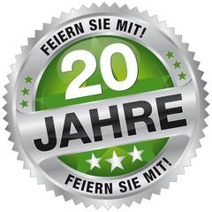 20 Jahre - Feiern Sie mit!