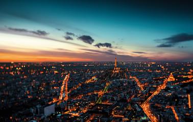Rue de Paris vue de haut