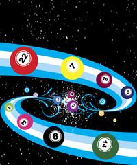 Starry bingo banner