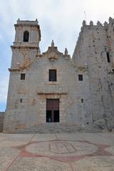 Die Kathedrale in der Altstadt von Peniscola