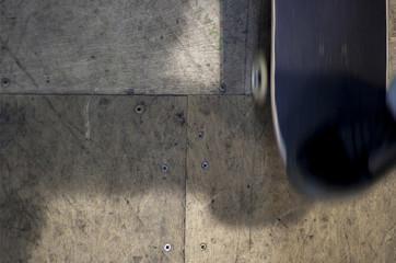 Drewniana powierzchnia - skatepark