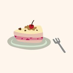 cake theme elements vector,eps
