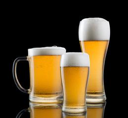 3 boccali di birra