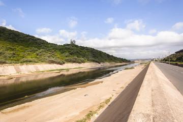 Canal Concrete Water Landscape