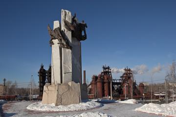 Памятник металлургам и завод-музей. Нижний Тагил