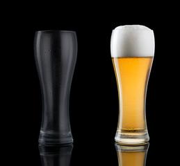 Bicchiere vuoto bicchiere pieno