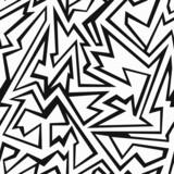 monochrome debris seamless pattern