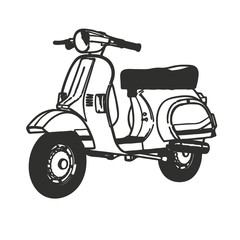 Scooter vector Symbol