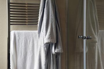 Bathroom, towel, personal hygiene