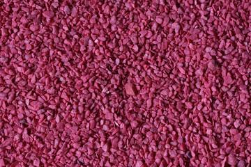 violet rode steentjes
