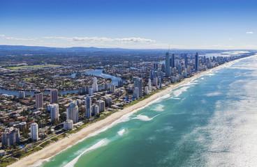 Surfers Paradise on the beautiful Gold Coast, Australia