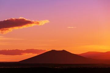 Sunset in Patagonia