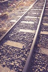 Vintage filtered of railroad.