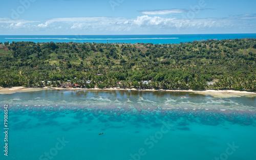 Papiers peints Ile Aerial view of Sainte Marie island, Madagascar
