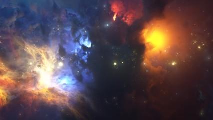 Colorful Nebula.