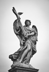 Angel monument in Rome