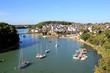 Leinwandbild Motiv Le Bono dans le golfe du Morbihan