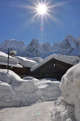 Neve a Cima Sappada