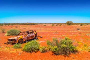Rostlaube im Australischen Outback
