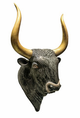 Head of Minotaur Bull