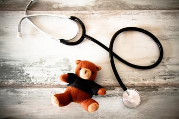 stetoscopio e pelushe