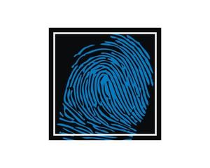 fingerprint square frame