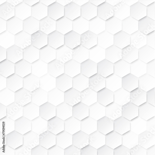 Abstract geometric background with hexagons. - 79094139