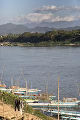 Mekong in Laos, river