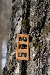 Lestvitsa, Russian rye festive spring cookie on tree