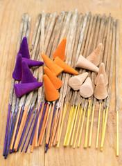 Incense sticks and cones