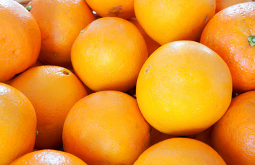 Photo of many oranges