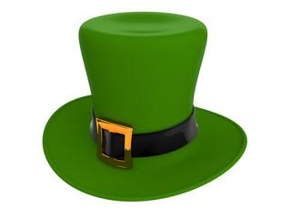 Ggreen hat of a leprechaun
