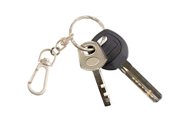 Keys on the ring.