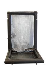 Inflatable decontamination shower