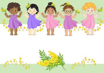 Bambine e Mimose