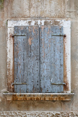 Grunge shutters