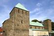 Leinwanddruck Bild - St.-Lucius-Kirche in Essen Werden, Deutschland