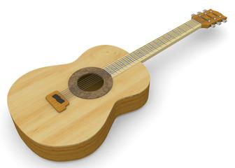 Classic Guitar - 3D