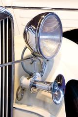 Old Car Headlight.