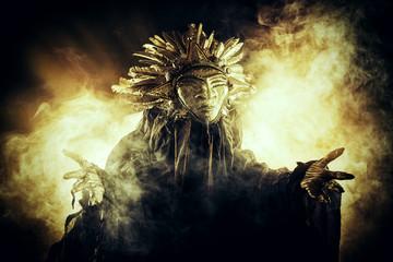 golden sun mask