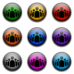 Button Color PEOPLE